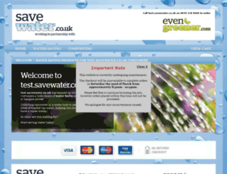 test.savewater.co.uk screenshot