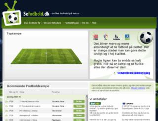 test.sefodbold.dk screenshot