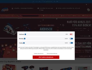 test.shop-seltmann.de screenshot