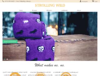 test.strollingwild.com screenshot