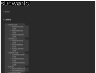 test.suewong.com screenshot