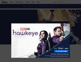 test.toontown.com screenshot
