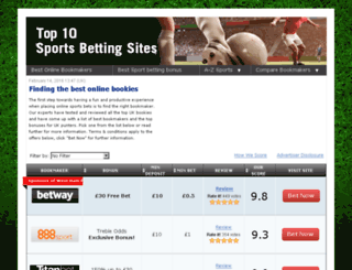 test.top10sportsbettingsites.co.uk screenshot
