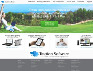 test.traction-software.co.uk screenshot