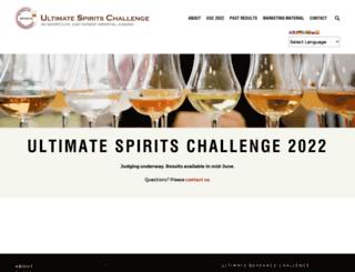 test.ultimate-beverage.com screenshot