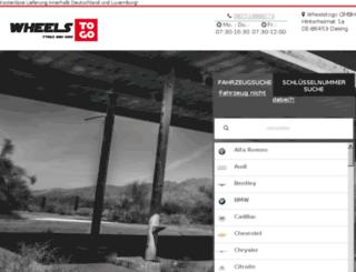 test.wheelstogo.de screenshot