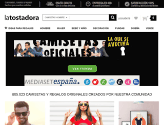 test2.latostadora.com screenshot