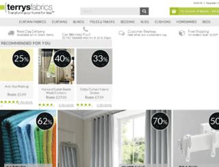 test46.terrysfabrics.co.uk screenshot