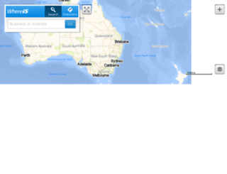 testa-whereis.sensis.com.au screenshot