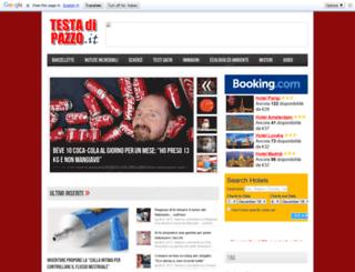 testadipazzo.it screenshot