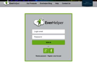 testadmin.everhelper.me screenshot