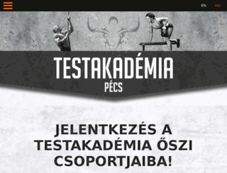 testakademiapecs.hu screenshot