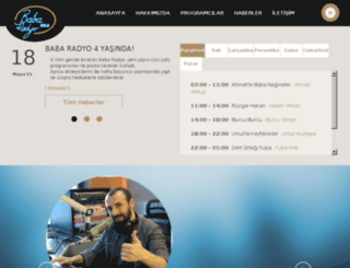 testbabaradyo.rnd.com.tr screenshot