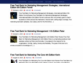 testbanksprep.com screenshot