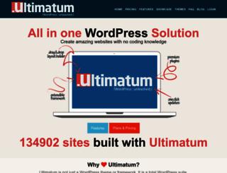 testbed.ultimatumtheme.com screenshot
