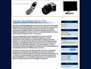 testbericht-archiv.de screenshot