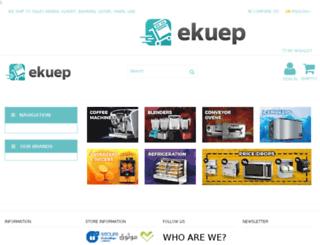 testbk.ekuep.com screenshot