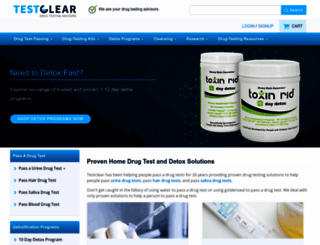 testclear.com screenshot