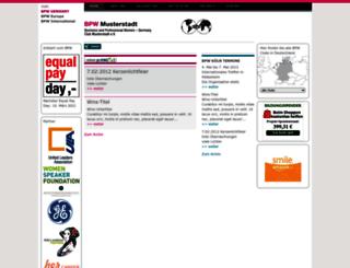 testclub.bpw-germany.de screenshot