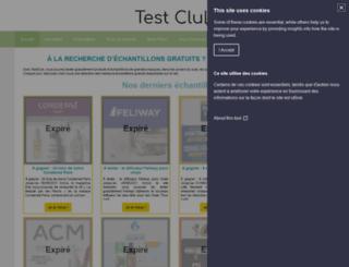 testclub.com screenshot
