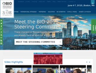 testconvention.bio.org screenshot