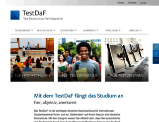 testdaf.de screenshot