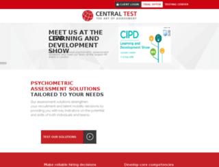 testdeinteligencia.centraltest.es screenshot