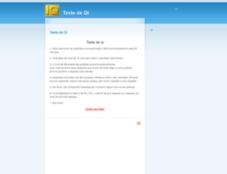 testedeqi.net screenshot