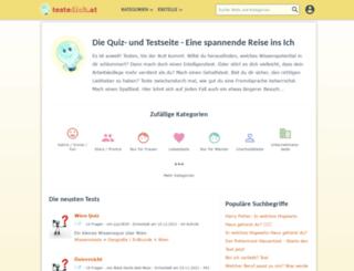 testedich.at screenshot