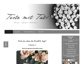 testemittati.blogspot.de screenshot