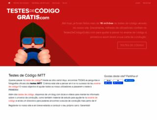 testesdecodigogratis.com screenshot