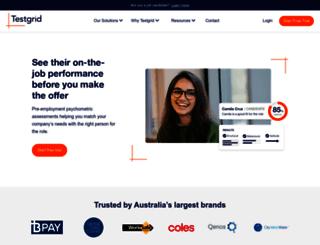 testgrid.com screenshot