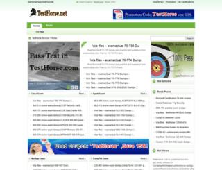 testhorse.net screenshot