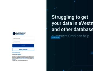 testing-app.evestment.com screenshot