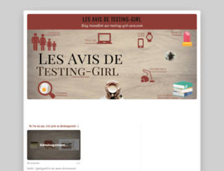 testing-girl.over-blog.com screenshot