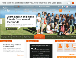 testing.els.edu screenshot