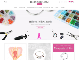 testing.hiddenhollowbeads.com screenshot