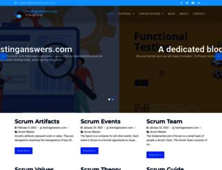 testinganswers.com screenshot