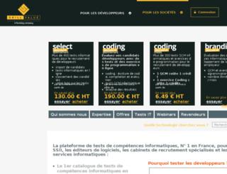 testingcenter.people-centric.fr screenshot