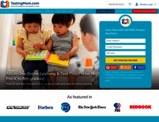 testingmom.com screenshot