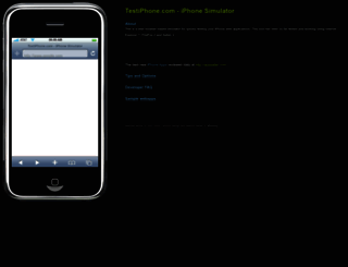 testiphone.com screenshot