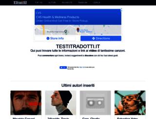 testitradotti.it screenshot