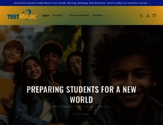 testmagic.com screenshot