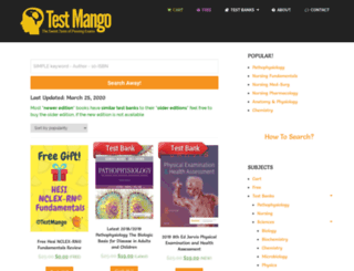 testmango.com screenshot