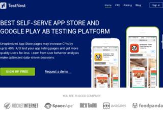 testnest.co screenshot