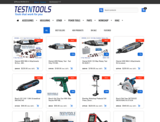 testntools.co.nz screenshot