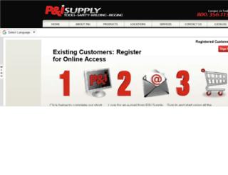 testonline.pisupply.com screenshot