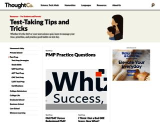 testprep.about.com screenshot