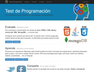 testprogramacion.com screenshot