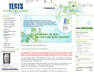 testsenvrac.com screenshot
